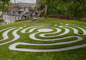Garten Labyrinth