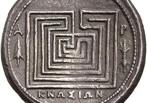 Knossos Münze Kreta