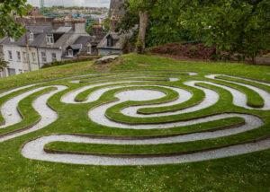 Kraftplatz Gartenspirale