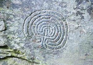 Petroglyphen Labyrinth